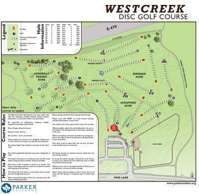 Westcreek-Disc-Golf-Map-Sign